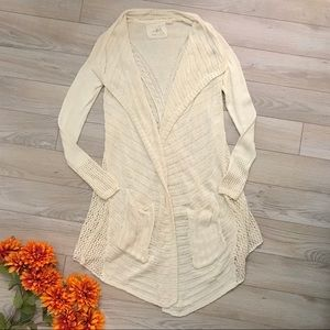 Angel of the North Anthropologie Cardigan Sweater